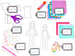 How to Make Paper Dolls With Downloadable Patterns | how-tos | DIY