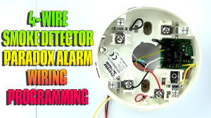 4 wire smoke detector wiring and programming paradox alarm youtube Simplex Smoke Detector Wiring Diagrams 4 wire smoke detector wiring and programming paradox alarm