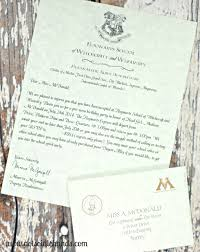 harry potter birthday invitations and authentic acceptance letter and party part 1 notsoidlehands