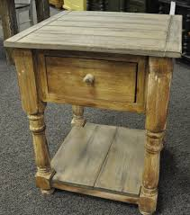 custom pine side table
