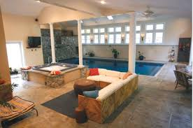 Indoor lap pool - Ramapo Valley