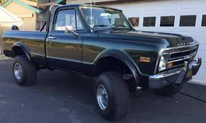 All Chevy chevy c10 4×4 : 1968 Chevrolet C10 for sale #2004258 - Hemmings Motor News