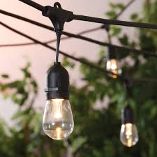 Big Bulb String Lights Better Homes Gardens 22ft Outdoor Led Cafe String Lights Walmart Com