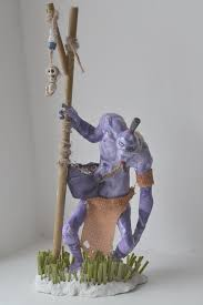 witch doctor statue dota 2 by nikkisailormoon on deviantart
