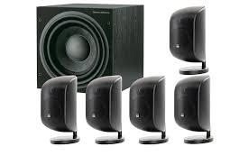 bowers and wilkins mt 50. b\u0026w mt-50 black 5.1 speaker system - front view. bowers and wilkins mt 50