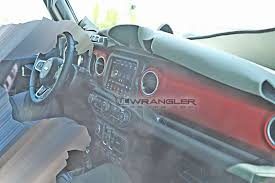 2018 jeep jl interior. perfect 2018 here is a clearer shot of the lower dash portion which definitely appears  to be more tucked and glove box slants away compared jk inside 2018 jeep jl interior i