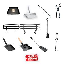 fireside fireplace coal ash fire tools shovel tongs pan saver inglenook
