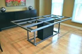 dining room table bases metal dining table legs dining table legs metal dining table base small