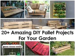pallet furniture projects. 20+ Amazing DIY Pallet Projects For Your Garden Furniture