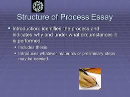 the process essay ppt video online structure of process essay