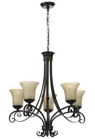hampton bay 5 light chandelier patina crystal burbank