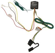 upgraded circuit protected tail light converter with 4 pole flat trailer connector tekonsha wiring 119178