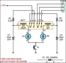 momentary switch teamed with latching relay circuit diagram Dpdt Momentary Switch Schematic momentary switch teamed with latching relay circuit schematic dpdt momentary switch wiring diagram