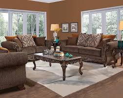 brown sofa sets. Gunslinger Bark Sofa \u0026 Loveseat Brown Sets