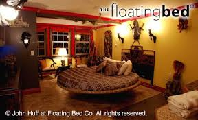 ... Round Floating Bed ...