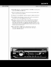 sony cdx gt240 cd receiver mp3 wma player manual sony cdx gt240 marketing specifications