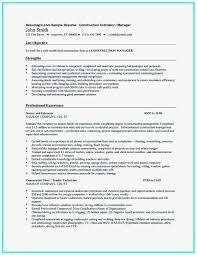 Construction Estimator Resume Sample 55 Fresh Models Of Construction Worker Resume Sample Best