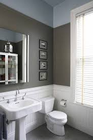 Toilet And Sink In One Bathroom Charming Beadboard Wainscoting In Bathroom White