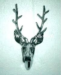 stag heads wall decoration stag head decor wall decoration mesmerizing deer faux white real stag heads wall decoration
