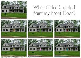 what color to paint front doorHow to Paint a Front Door and my color reveal  East Coast