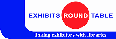 exhibits round table linking exhibitors with libraries