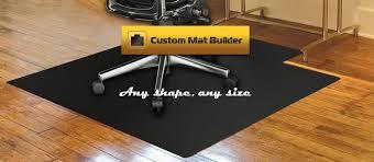 custom chair mats