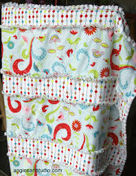 An Easy and Simple Way to Make a Baby Rag Blanket — Angie's Art Studio & For a while now I have been admiring the raggy and fluffy edges of rag  quilts, but most rag quilts I have seen on the internet are made with  squares and the ... Adamdwight.com