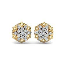 diaashi diamond nakshatra earrings hover to zoom
