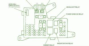 97 acura cl fuse box diagram 97 wiring diagrams online