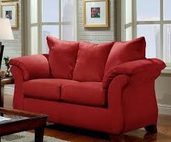 affordable furniture sensations red brick sofa. RED BRICK LOVESEAT Affordable Furniture Sensations Red Brick Sofa E