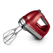 kitchenaid architect 9 sd hand mixer red
