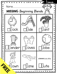 Sn, sm, sw, sk, sp, st, sc sounding letters matching worksheet 9. Phonics Unit 5 Consonant Blends Freebie Keeping My Kiddo Busy