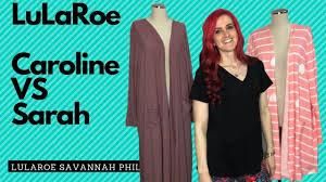 Llr Caroline Size Chart Lularoe Caroline Vs Lularoe Sarah In 2019 Style Lularoe