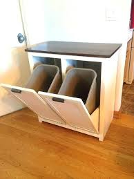 Under cabinet garbage can Waste Container Under Cabinet Trash Bin Under Cabinet Garbage Can Kitchen Trash Can Best Trash Can Cabinet Ideas Yodaknowclub Under Cabinet Trash Bin Trash Can The In Cabinet