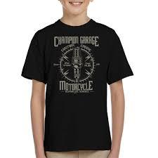 Pole Vault Plug Size Chart Amazon Com Champion Garage Motorcycle Kids T Shirt Clothing
