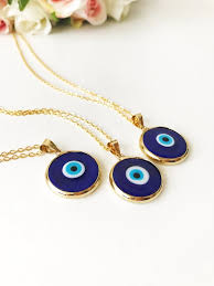 evil eye necklace blue evil eye bead