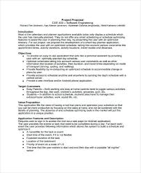 Cost Proposal Template Word Software Proposal Templates Cost Template Project Examples