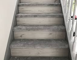 carpet laminate stairs. all 3 bedrooms were carpeted with soft touch lifestyle amore, which tied in well the glittery ilove carpet, and gave a similar look feek \u2026 minus carpet laminate stairs i