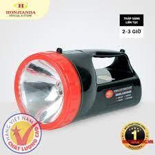 Đèn pin sạc tích điện xách tay Honjianda HJD-6688 - có chân đế sạc - Đèn  pin Hãng HONJIANDA