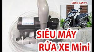 Tự làm máy rửa xe mini siêu mạnh bằng ống nhựa PVC | Máy rửa xe mini 12v -  YouTube