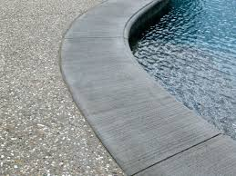 pool coping cantilever band