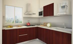 For L Shaped Kitchen L Shaped Kitchen Decor With Beautiful View At Windows And Modern