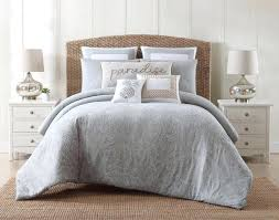 gray and white bed sheets new grey comforter