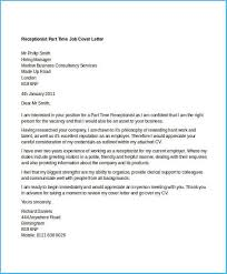 Awesome Cover Letter For Part Time Job As Cover Letter