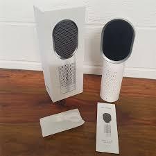 net beauty office desktop air purifier cleaner f001 allergies dust smoking