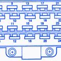 jeep cj7 v 8 1985 main fuse box block circuit breaker diagram jeep zj 1998 main engine fuse box block circuit breaker diagram