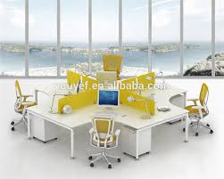 long office tables. contemporary design long office table 2 drawers for 4 people wholesale tables