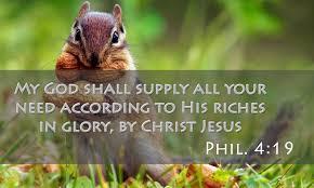 God Shall Supply All Your Needs