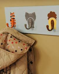 Nursery Coat Rack Animal Hooks Stippling Brush Animal And Coat Racks 7