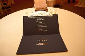 Auction Invitations The Invitations Had A Black And Gold Color Scheme And Prominent